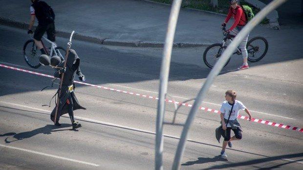 (foto) Cele mai interesante personaje întâlnite la Maratonul din Chișinău