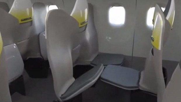 (video) Mai mult spațiu pentru pasageri. Cum ar putea fi distribuite în viitor locurile în avioane