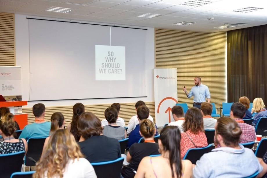 DIGITAL EVOLUTION POWERING THE FUTURE: Endava organizează la Chişinău primul eveniment marca TECH FLOW, dedicat profesioniştilor IT din Moldova
