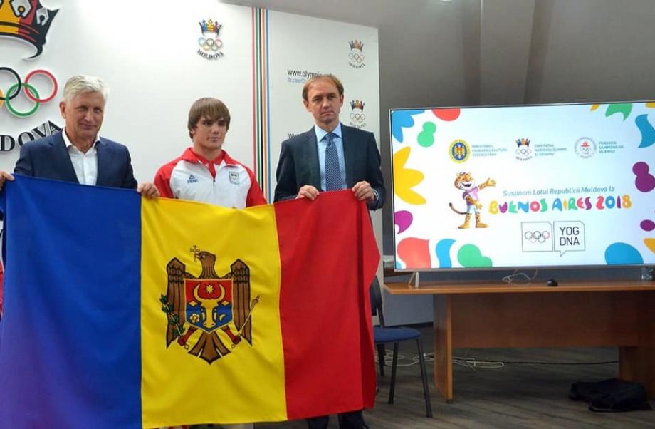 (foto) Luptătorul din Moldova, Alexandrin Guțu, a cucerit medalia de aur la Jocurile Olimpice de tineret din Buenos Aires