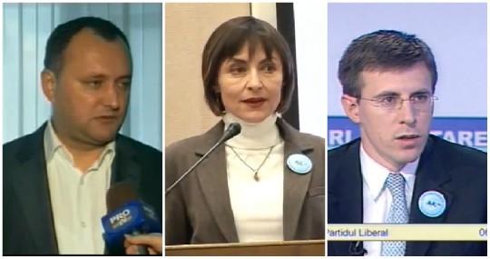 2009 vs 2019. Cât de mult s-au schimbat politicienii moldoveni în decurs de 10 ani