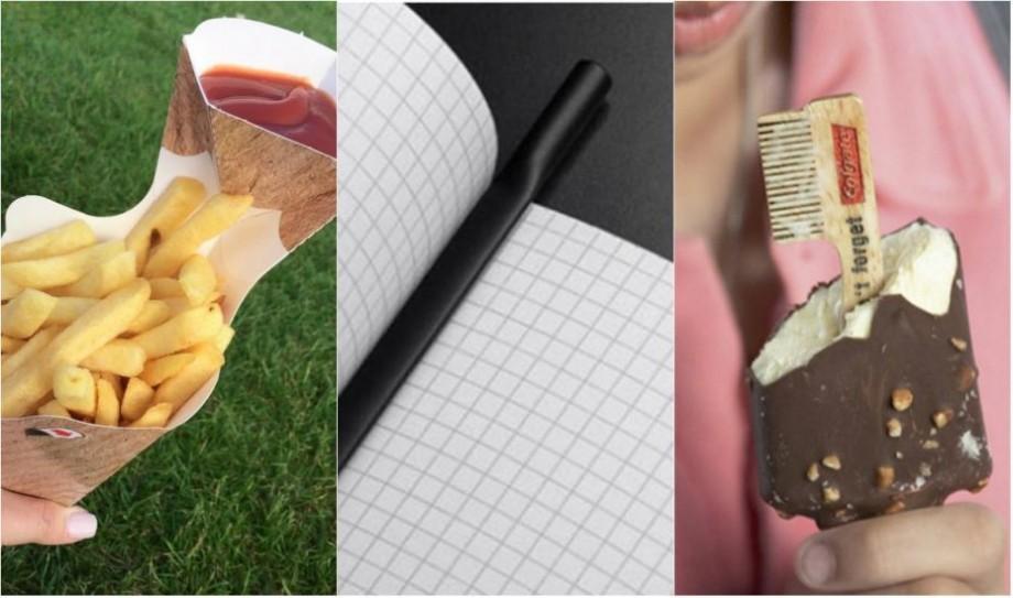 (foto) Platou pentru vin și gustări sau pix drept semn de carte. Cum arată lucrurile ciudate cu design neobișnuit