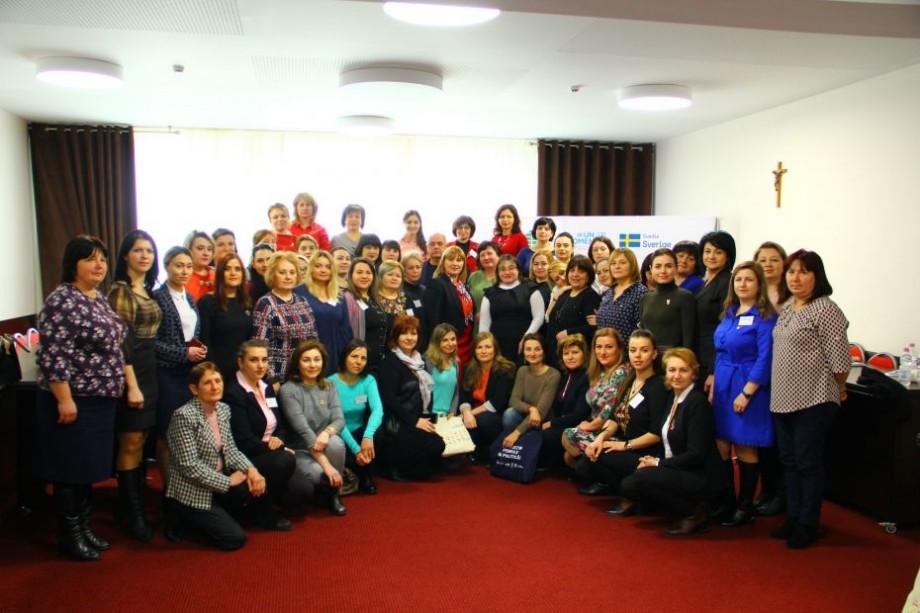 """(foto) """"Atât femeile, cât și bărbații trebuie să participe în mod egal în luarea deciziilor"""". La Chișinău, a fost lansată a doua ediție a """"Women 4 Leadership"""""""