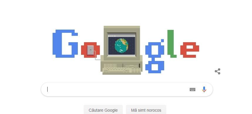 (foto) Google sărbătorește a 30-a aniversare a World Wide Web cu un doodle special