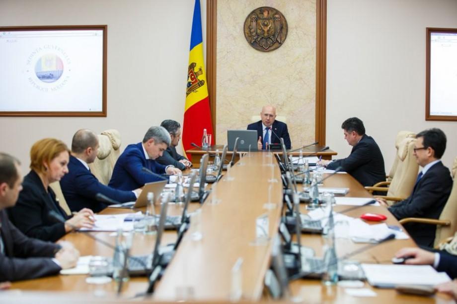 (doc) Guvernul s-a întrunit într-o ședință ad-hoc și a discutat un singur proiect, fără a anunța presa