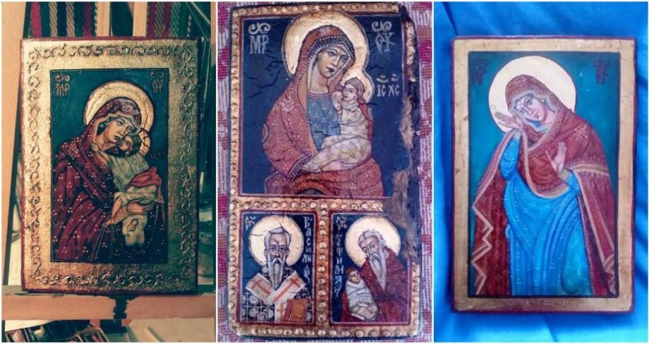 """Vernisaj de 40 de icoane pictate pe lemn de elevii Școlii de Arte """"Ion și Doina Aldea – Teodorovici"""". Unde și când va avea loc"""