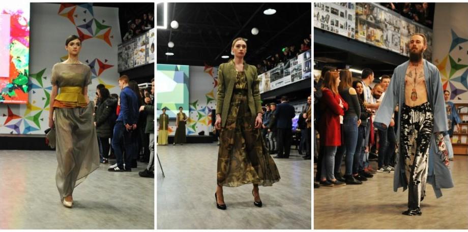 """(foto) Cum arată colecțiile tinerilor designeri de la UTM, prezentate la Expoziția """"Creația deschide Universul"""""""