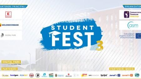 """(video) ,,Student Fest"""" – primul festival studenţesc din Moldova te așteaptă și în acest an"""