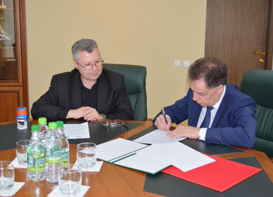 """Universitatea de Stat din Moldova și Universitatea Rusă de Economie """"G. V. Plehanov"""" au semnat un acord de colaborare internațională"""